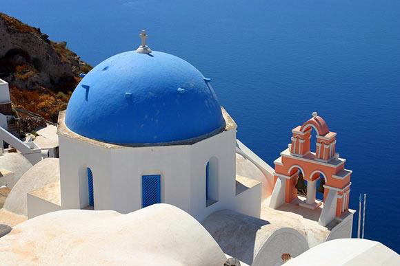Churches of Santorini
